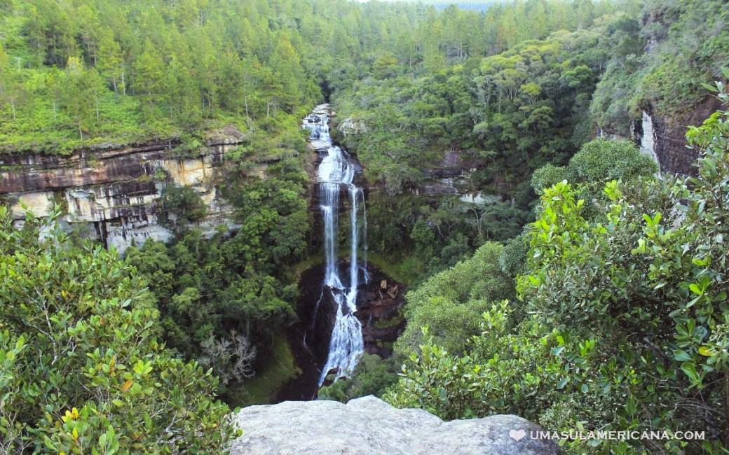 Turismo no Vale do Itararé - Tudo sobre Itararé, Sengés e região - Cachoeira do Palmito Mole
