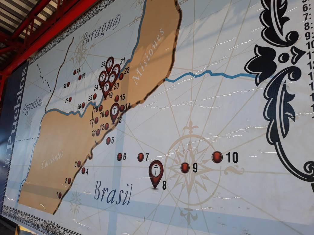 Missões Jesuítas do Paraguai, Brasil e Argentina