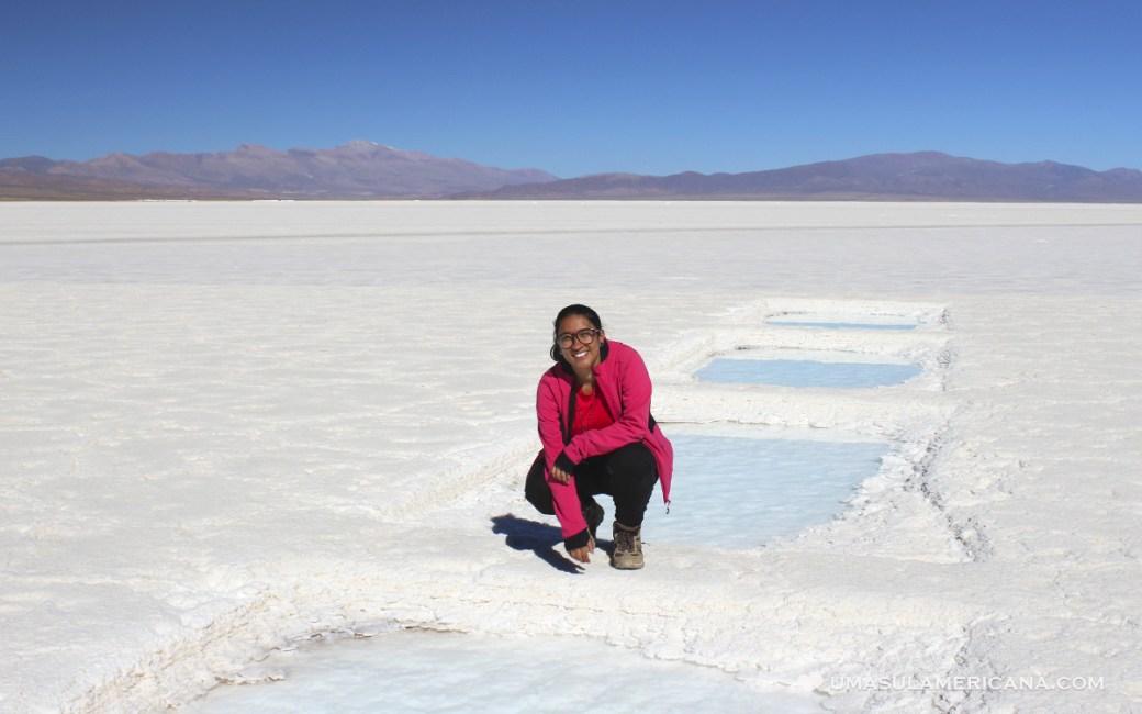 Jujuy - Salinas Grandes, o terceiro maior deserto de sal da América do Sul