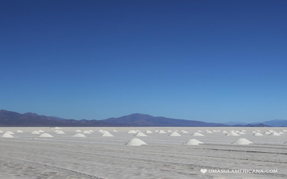Norte da Argentina - Conheça as Salinas Grandes, em Jujuy