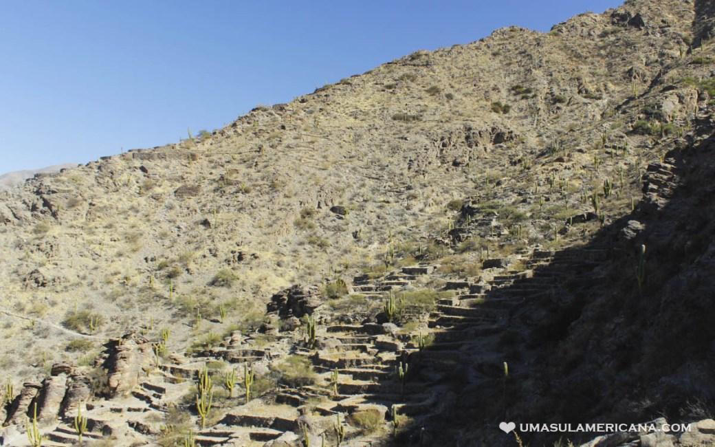 Ruínas Arqueológicas de Quilmes, perto de Amaicha del Valle, Tafí del Valle e Cafayate