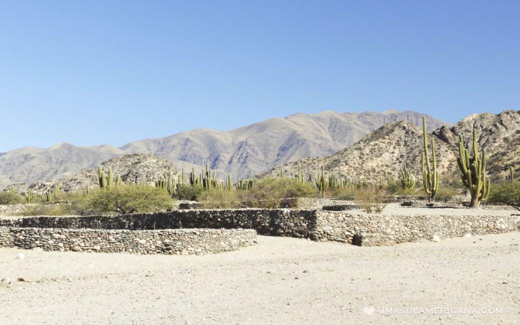 Ruínas arqueológicas na Argentina - Quilmes, em Tucumán