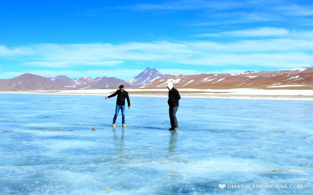 Laguna Diamante - Dicas para economizar no Deserto do Atacama