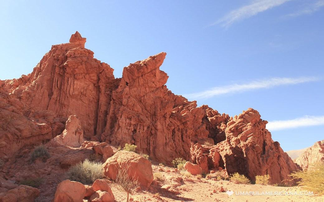 Quebrada de Las Señoritas, Uquía - Destinos norte da Argentina