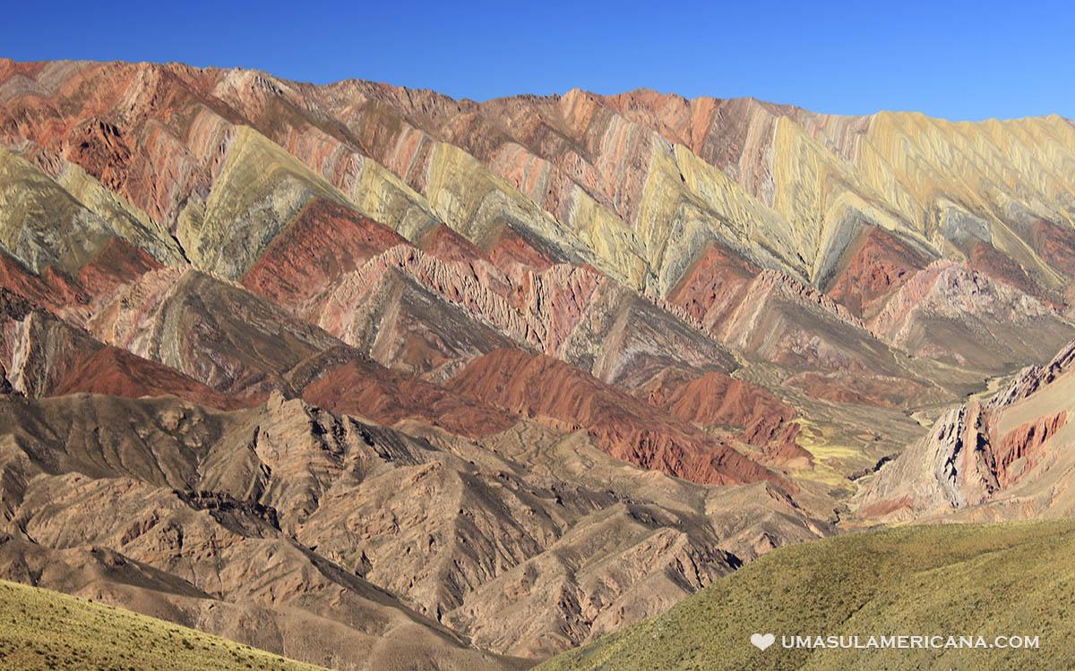 Serranía del Hornocal, o Cerro de 14 Colores em Humahuaca