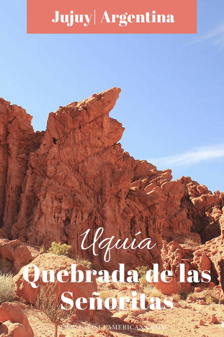 Uquía e Quebrada de Las Señoritas, em Jujuy, no Norte da Argentina