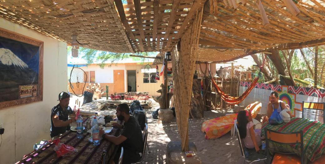 Hostels no Atacama - 10 opções mais baratas - Hostal Hultur