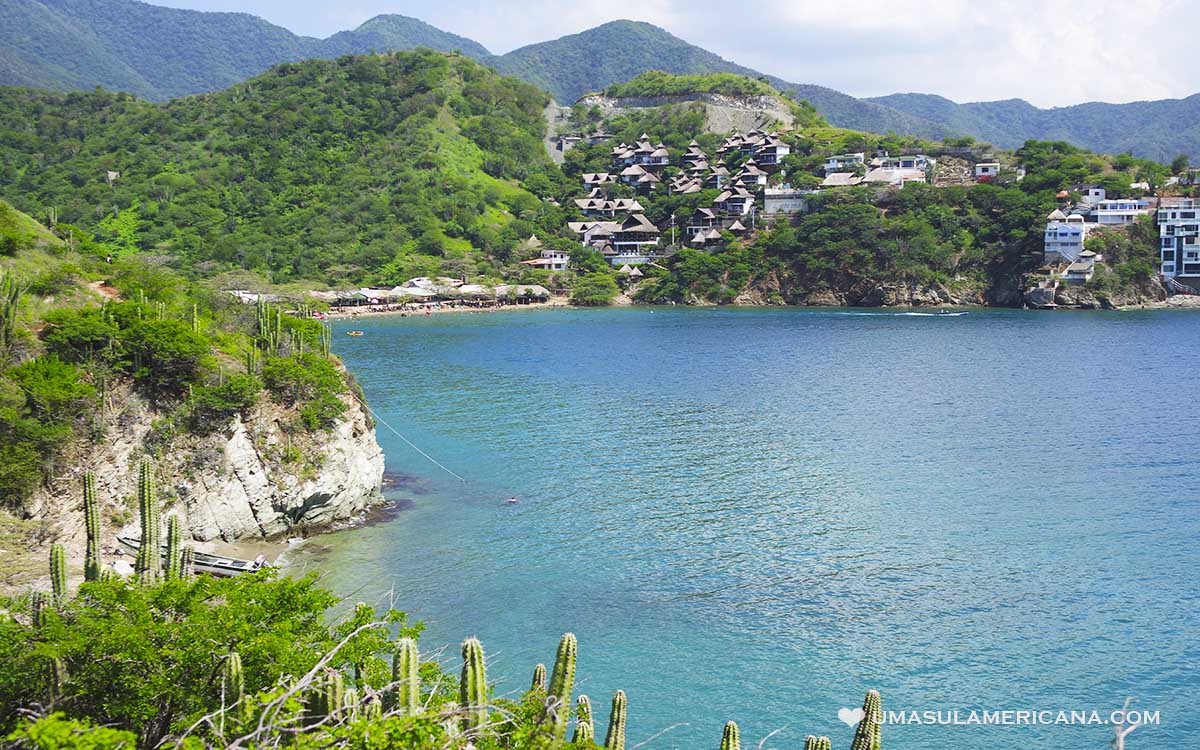 Praias do caribe da Colômbia
