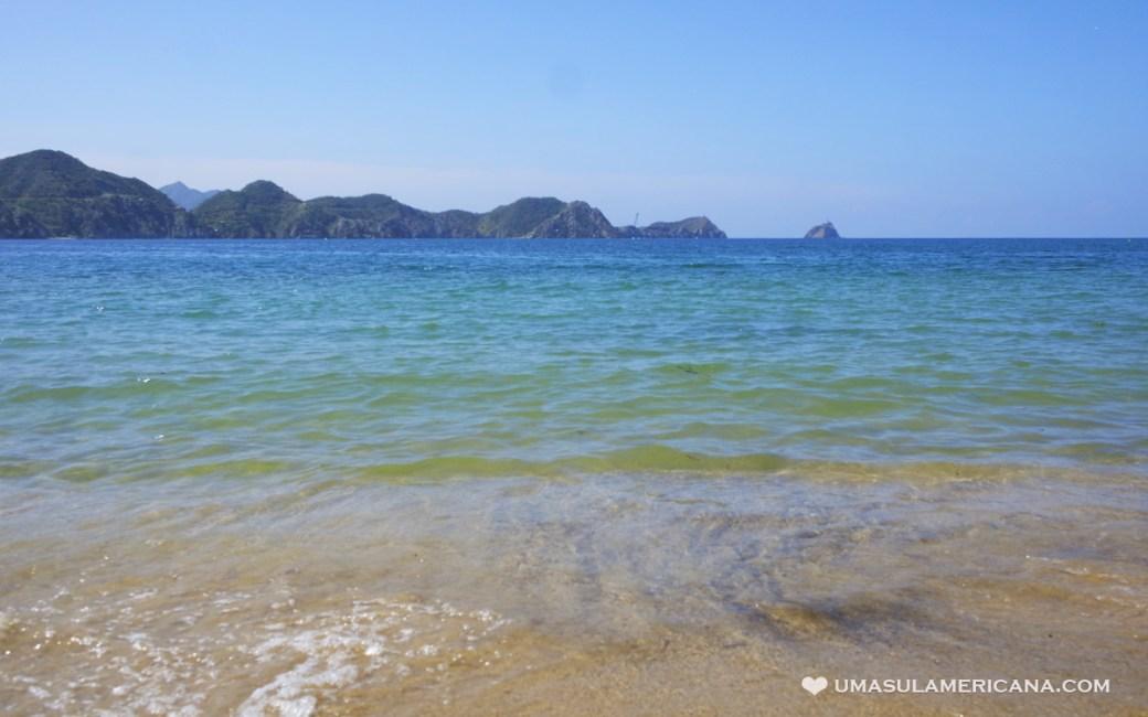Praias no caribe colombiano - Taganga, Santa Marta - Magdalena