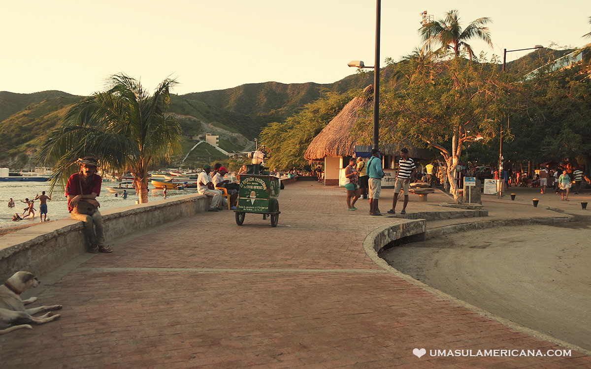 Taganga, paraíso no Caribe Colombiano