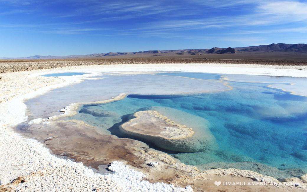 Viagem Chile - Lagunas Escondidas de Baltinache, no Atacama