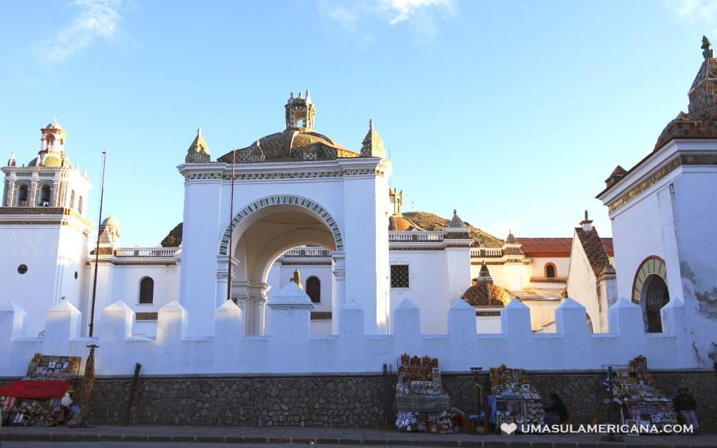 Basílica Nossa Senhora de Copacabana na Bolívia