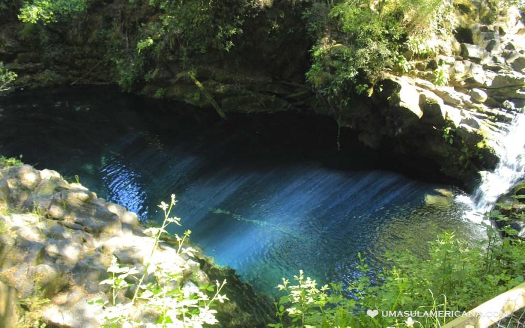 Laguna Azul - Ojos del Caburga