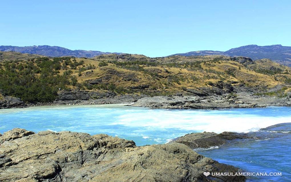 Confluência do Rio Baker e Neff, na Patagônia chilena