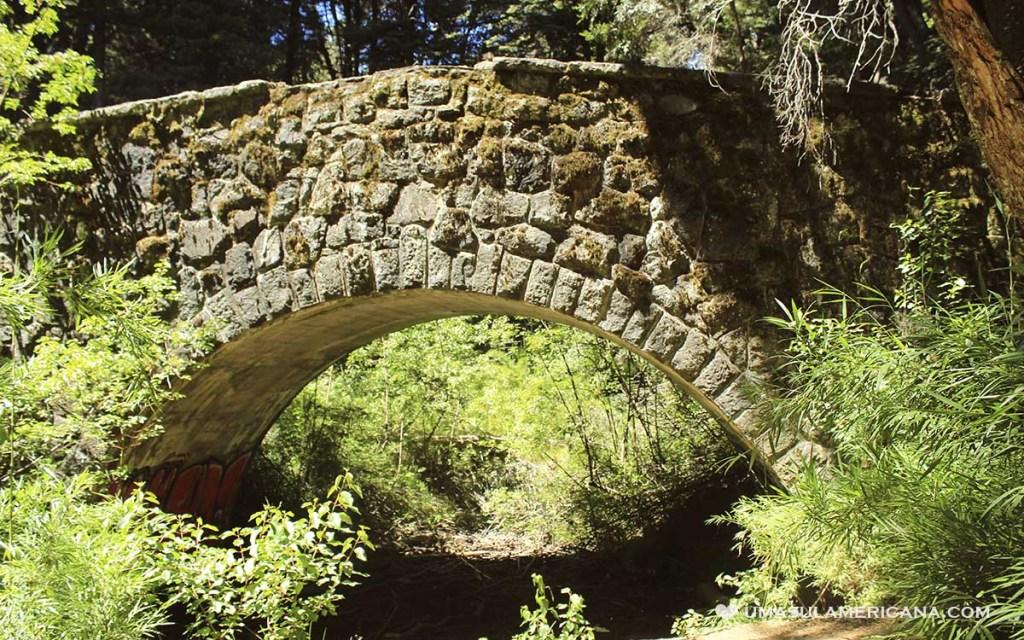 Puente Romano no Parque Llao Llao