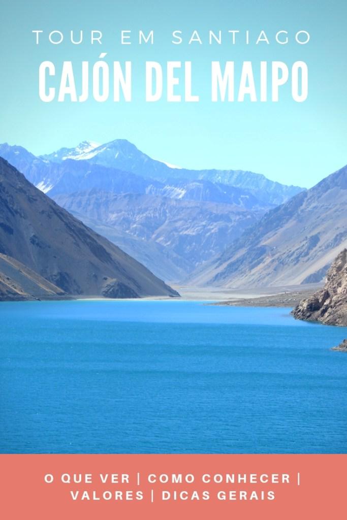 Tour em Santiago: Cajón del Maipo e Embalse El Yeso