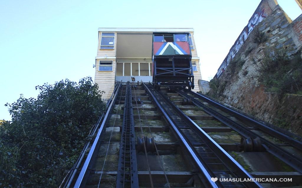 Ascensor Reina Victória Cerro Alegre e Concepción em Valparaíso