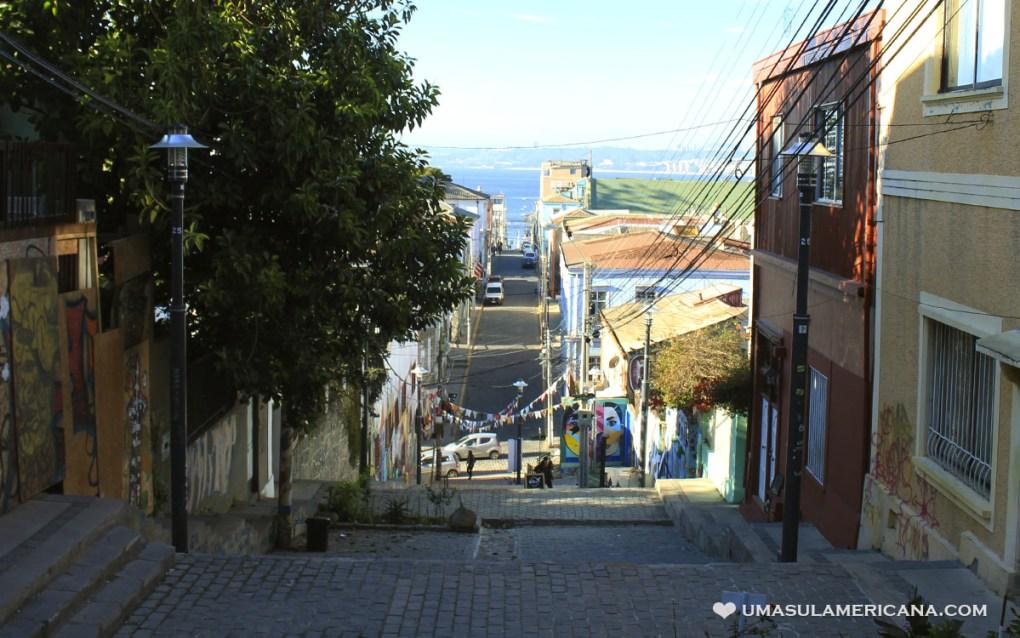 Templeman, Cerro Alegre e Concepción