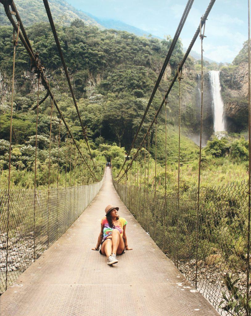 Baños de Agua Santa - Quando viajar pelo Equador. Veja a melhor época pra conhecer o Equador - Guia de viagem