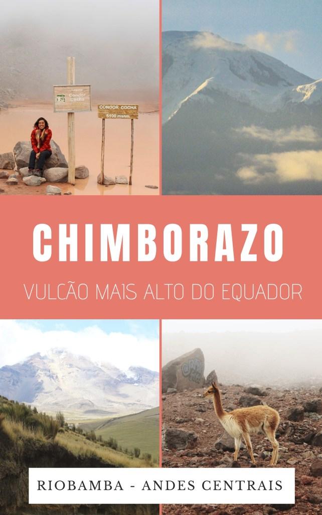Riobamba, nos Andes centrais do Equador, reserva o vulcão mais alto do mundo desde o centro da Terra, o Chimborazo