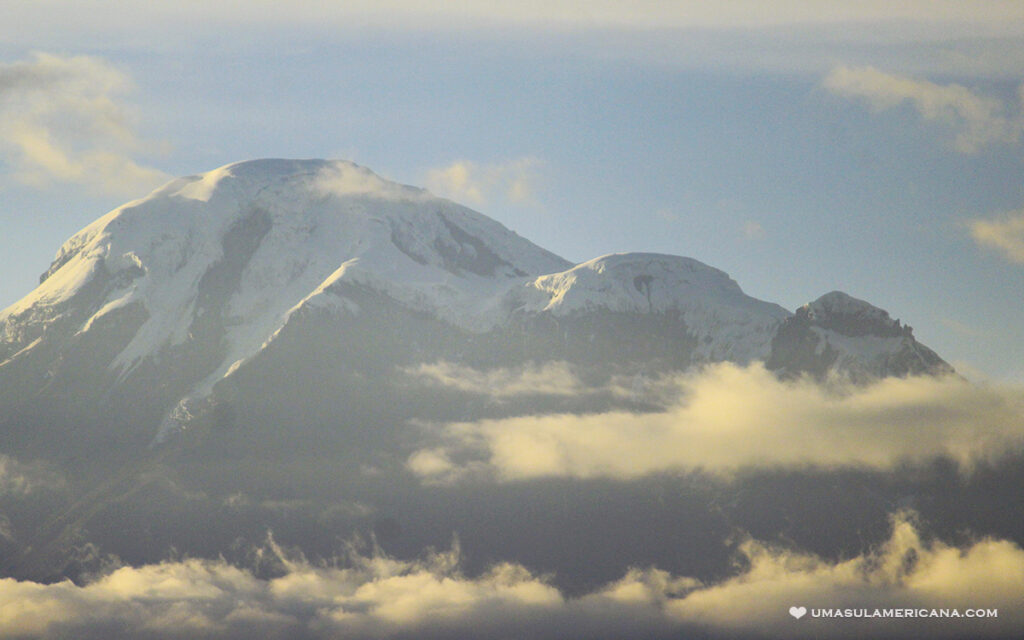 Vulcão Chimborazo, Andes do Equador