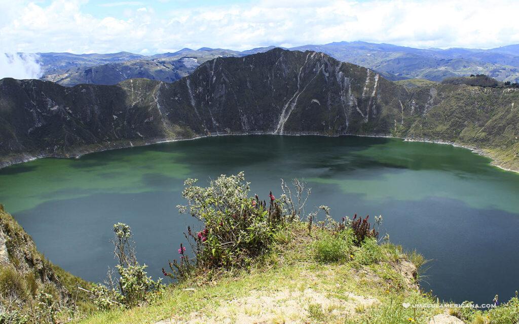 Vulcão Quilotoa - Guia de viagem do Equador