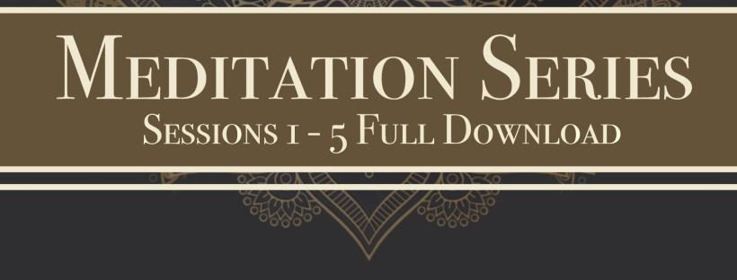 UMatter Meditation Series Sessions 1 – 5 Full Download – Umatter