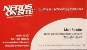 Matt Sicotte | Nerds On Site