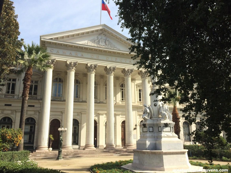 antigo congresso Santiago tour gratuito