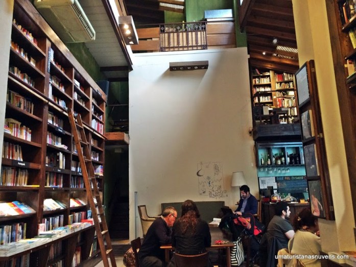 livraria Libros del Pasage em Buenos Aires
