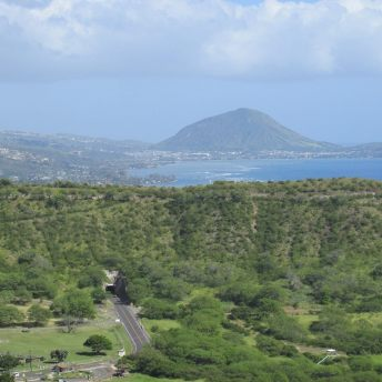 Cratera Diamond Head no Havaí