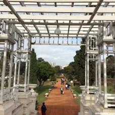 Parques de Palermo em Buenos Aires - Rosedal - Ponte Grega