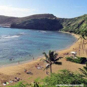Hanauma Bay no Havaí - Oahu