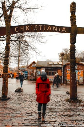 O que fazer em Copenhague - Dinamarca - Christiania _