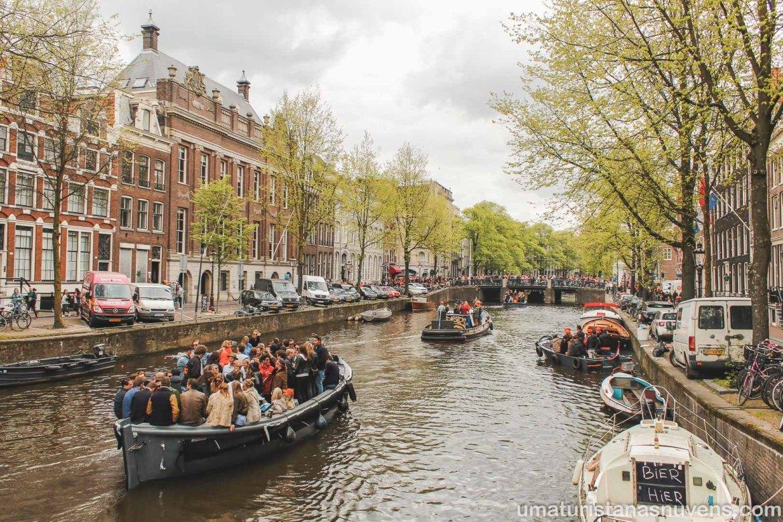 Dia do Rei em Amsterdam - Holanda