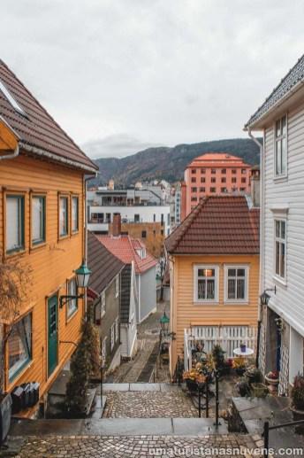 O que fazer em Bergen - casas de madeira - Noruega-3