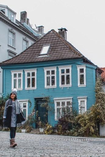 O que fazer em Bergen - casas de madeira - Noruega