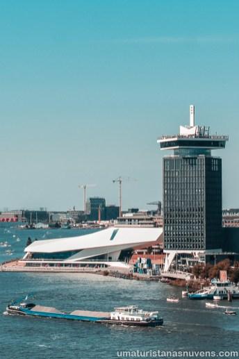 Lugares para ver Amsterdam do alto - SkyLounge3