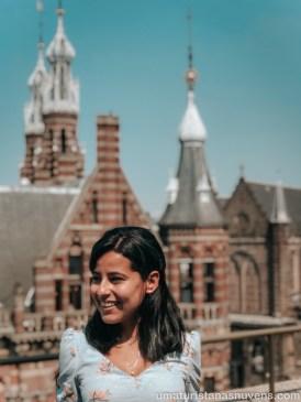 Lugares para ver Amsterdam do alto - W Lounge