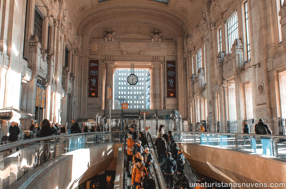O que fazer em Milão em 1 dia - estação de trem
