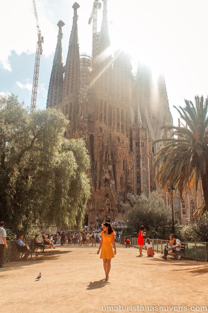 viajar sozinha pela primeira vez - Barcelona