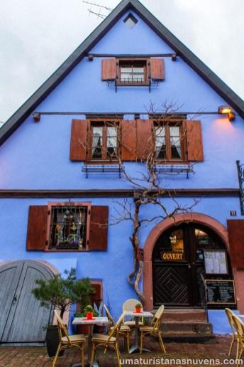 Viagens de 2018 - França - Riquewihr - Rota do vinho