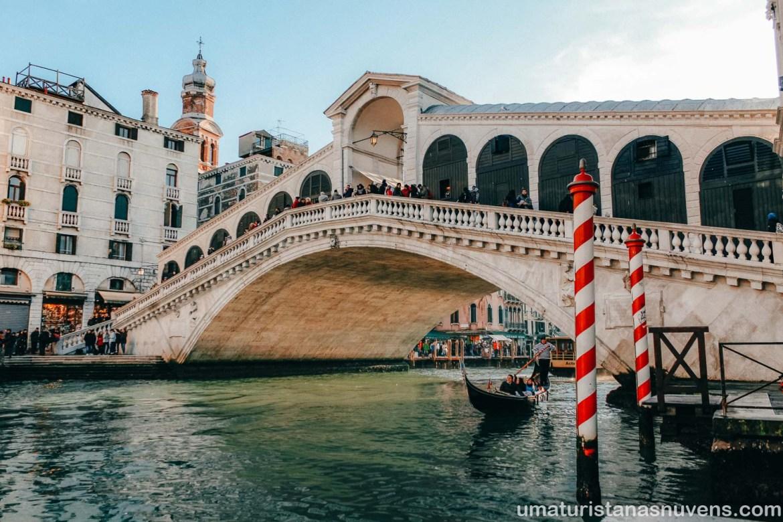O que fazer em Veneza - Ponte Rialto