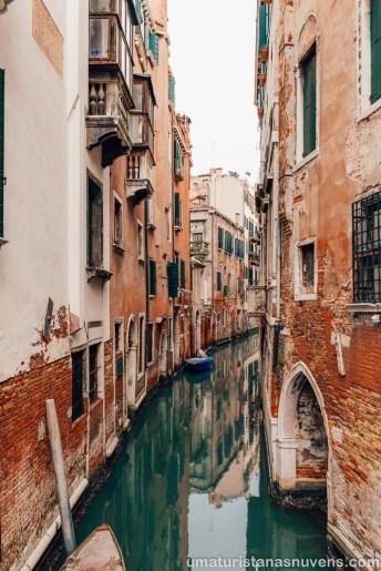 O que fazer em Veneza - Itália - canais fofos