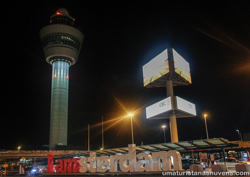 Aeroporto Schiphol – como ir do aeroporto de Amsterdam até o centro