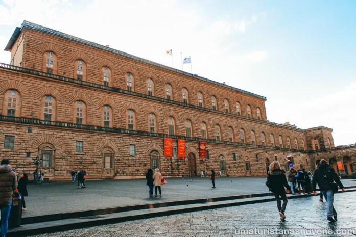 O que fazer em Florença - Palácio Pitti