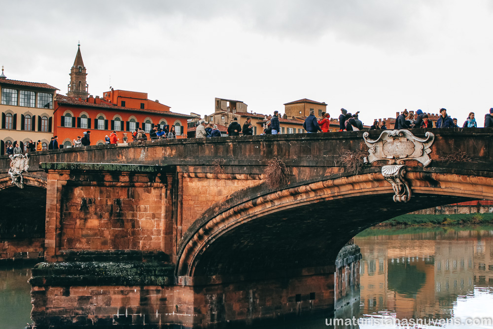 O que fazer em Florença - Ponte Santa Maria Trinita