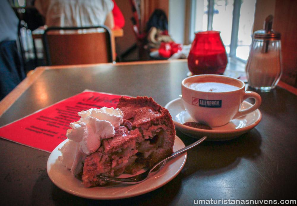 A melhor torta de maçã de Amsterdam - Winkel 43