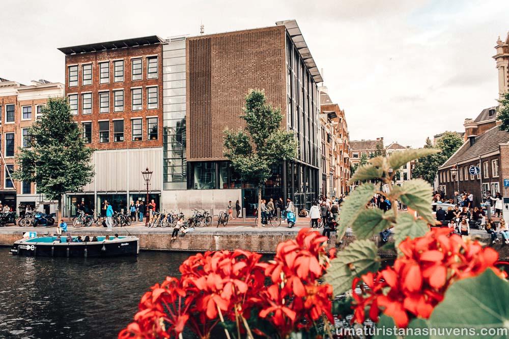 Museu e Casa de Anne Frank em Amsterdam - Holanda