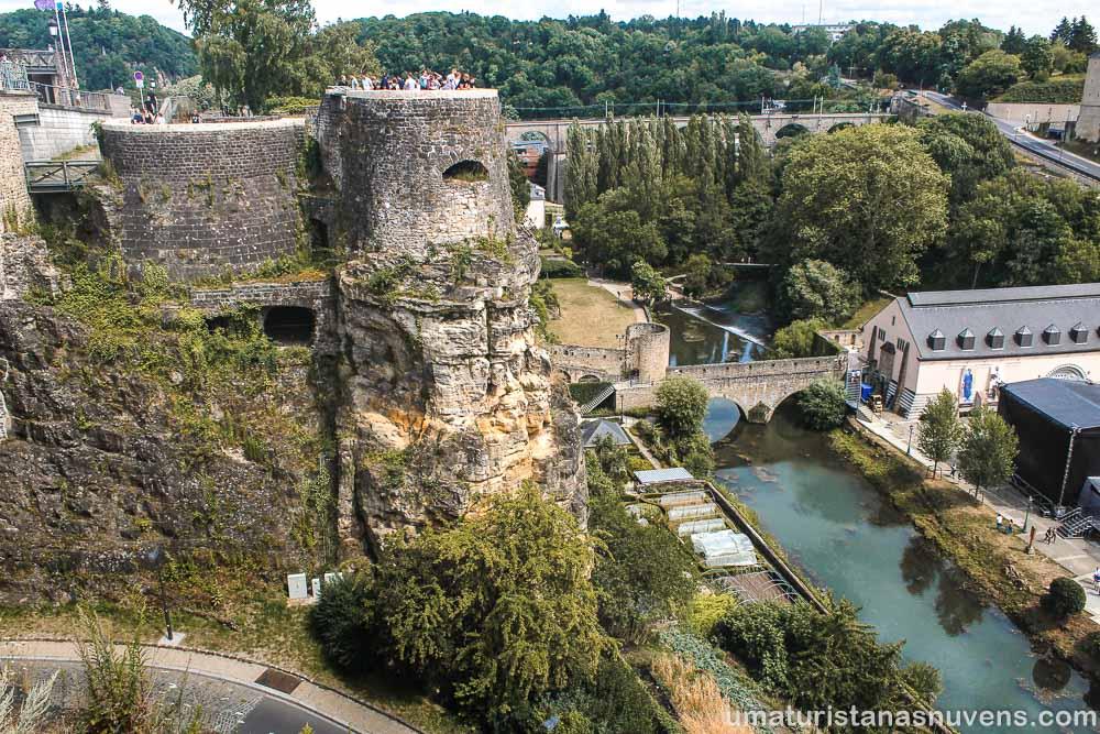 Motivos para visitar a Cidade de Luxemburgo - casamatas de buck
